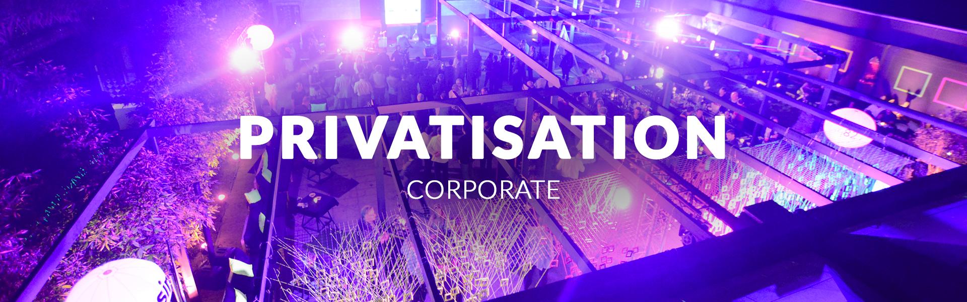 privatisation corpo